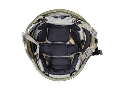 EPIC Air™ Combat Helmet Liner System Installed