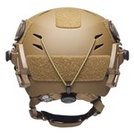 Coyote Brown EXFIL Carbon Helmet Rear thumbnail