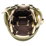 EPIC Air™ Combat Helmet Liner System Installed with Comfort Pads thumbnail