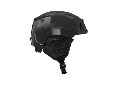 M-216 Ski Helmet Black/Gray Side