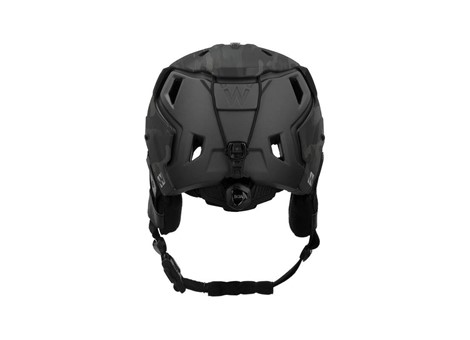 M-216 Ski Helmet MultiCam Black/Gray Rear