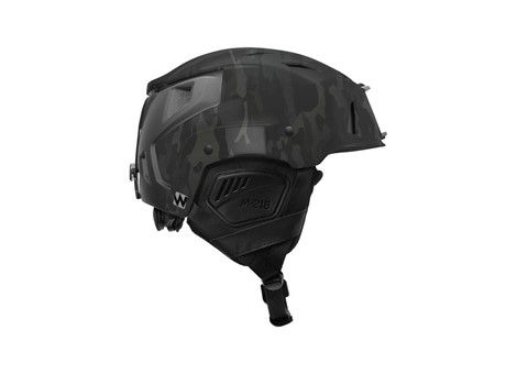 M-216 Ski Helmet MultiCam Black/Gray Side