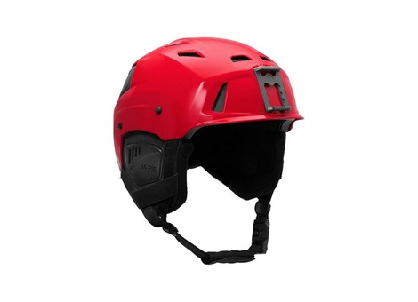 M-216 Ski Helmet Red/Gray Angle