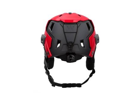 Red/Gray M-216 Backcountry Ski SAR Rear