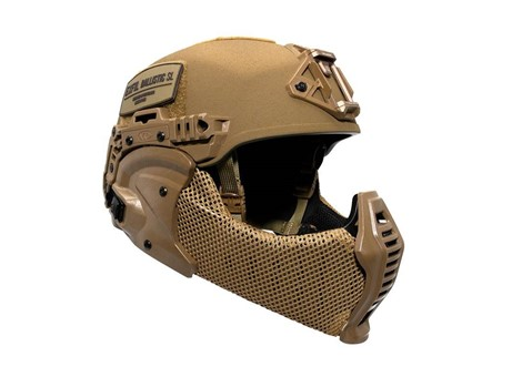 EXFIL All-Terrain Mandible Installed Coyote Brown