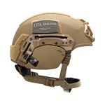 EXFIL® Ballistic Ear Covers | EXFIL® Ballistic with EXFIL® Rail 2.0 | Coyote Brown | Side thumbnail