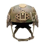EXFIL® Ballistic Ear Covers | EXFIL® Ballistic with EXFIL® Rail 2.0 | Coyote Brown | Front thumbnail