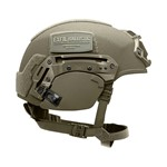 EXFIL® Ballistic Ear Covers | EXFIL® Ballistic with EXFIL® Rail 2.0 | Ranger Green | Side thumbnail