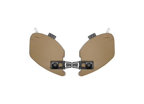 EXFIL® Ballistic Ear Covers Coyote Brown