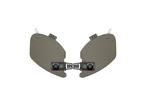 EXFIL® Ballistic Ear Covers Ranger Green