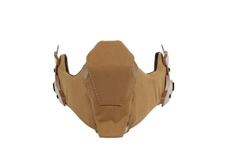EXFIL Ballistic Mandible Coyote Brown Ballistic Nose