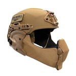 EXFIL Ballistic Mandible Installed Coyote Brown thumbnail