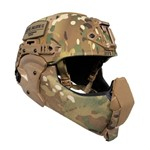 EXFIL Ballistic Mandible MultiCam Ballistic Nose Installed thumbnail
