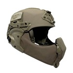 EXFIL Ballistic Mandible Ballistic Nose Ranger Green Installed thumbnail
