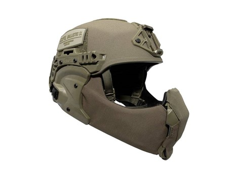 EXFIL Ballistic Mandible Ballistic Nose Ranger Green Installed