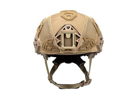 EXFIL Ballistic Helmet Cover for Rail 2.0 Coyote Brown Front