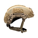 EXFIL® Ballistic Helmet Cover for Rail 2.0 | Coyote Brown | Side thumbnail