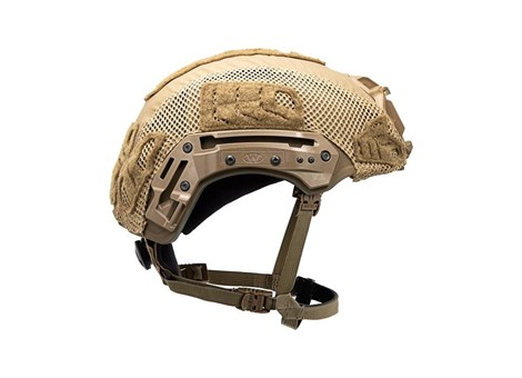 EXFIL® Ballistic Helmet Cover for Rail 2.0 | Coyote Brown | Side
