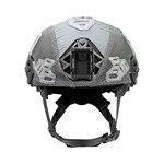EXFIL Ballistic Helmet Cover for Rail 2.0 Wolf Gray Front thumbnail