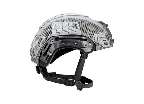 EXFIL Ballistic Helmet Cover for Rail 2.0 Wolf Gray Side