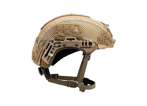 EXFIL® Ballistic / SL Rail 3.0 Helmet Cover Coyote Brown Side