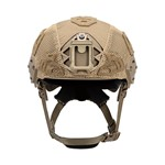 EXFIL Carbon Rail 2.0  Helmet Cover Coyote Brown Front thumbnail