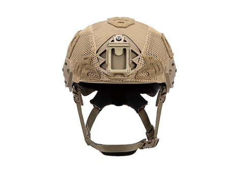 EXFIL Carbon Rail 2.0  Helmet Cover Coyote Brown Front