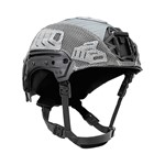 EXFIL Carbon Rail 2.0 Helmet Cover Wolf Gray Angle thumbnail