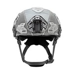 EXFIL Carbon Rail 2.0 Helmet Cover Wolf Gray Front thumbnail