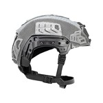 EXFIL® Carbon Rail 2.0 Helmet Cover | Wolf Gray | Side thumbnail