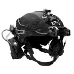 EXFIL Helmet Cover Accessory Cables Routed Angle thumbnail
