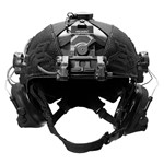 EXFIL Helmet Cover Accessory Cables Routed Front thumbnail