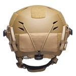 EXFIL Counterweight Carbon/LTP Helmet Rear View thumbnail