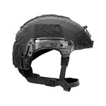 EXFIL® LTP Rail 2.0 Helmet Cover | Black | Side thumbnail