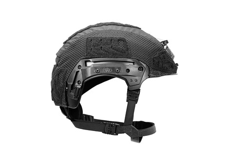 EXFIL® LTP Rail 2.0 Helmet Cover | Black | Side