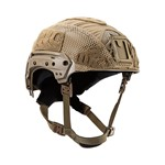 EXFIL® LTP Rail 2.0 Helmet Cover | Coyote Brown | Angle thumbnail