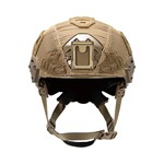 EXFIL LTP Rail 2.0 Helmet Cover Coyote Brown Front thumbnail