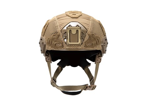 EXFIL LTP Rail 2.0 Helmet Cover Coyote Brown Front