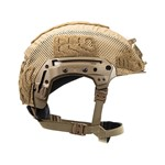 EXFIL LTP Rail 2.0 Helmet Cover Coyote Brown Side thumbnail