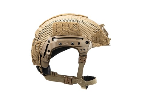 EXFIL LTP Rail 2.0 Helmet Cover Coyote Brown Side
