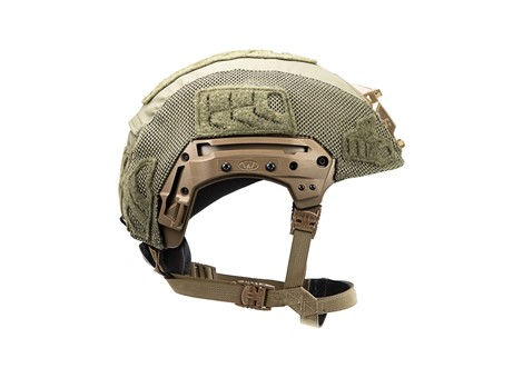 EXFIL® LTP Rail 2.0 Helmet Cover | Ranger Green | Side
