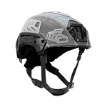 EXFIL® LTP Rail 2.0 Helmet Cover | Wolf Gray | Angle thumbnail