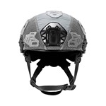 EXFIL LTP Rail 2.0 Helmet Cover Wolf Gray Front thumbnail