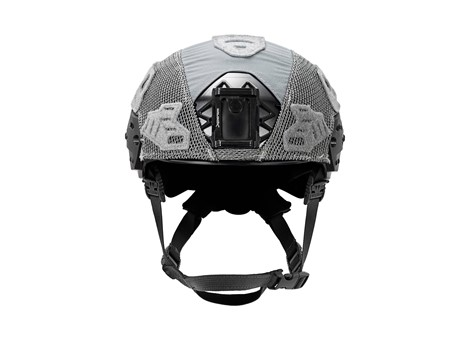 EXFIL LTP Rail 2.0 Helmet Cover Wolf Gray Front