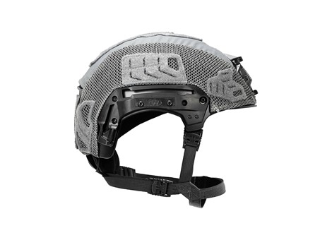EXFIL® LTP Rail 2.0 Helmet Cover | Wolf Gray | Side