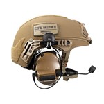 EXFIL Ballistic SL Peltor Communication Headset Installed thumbnail