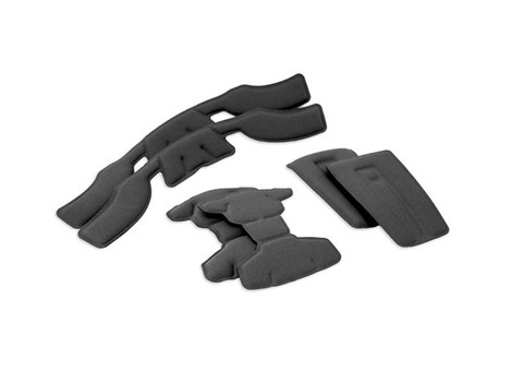 EXFIL SAR Helmet Comfort Pad Replacement Kit Black